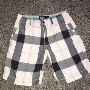 American Eagle Outfitters Men's Plaid Shorts